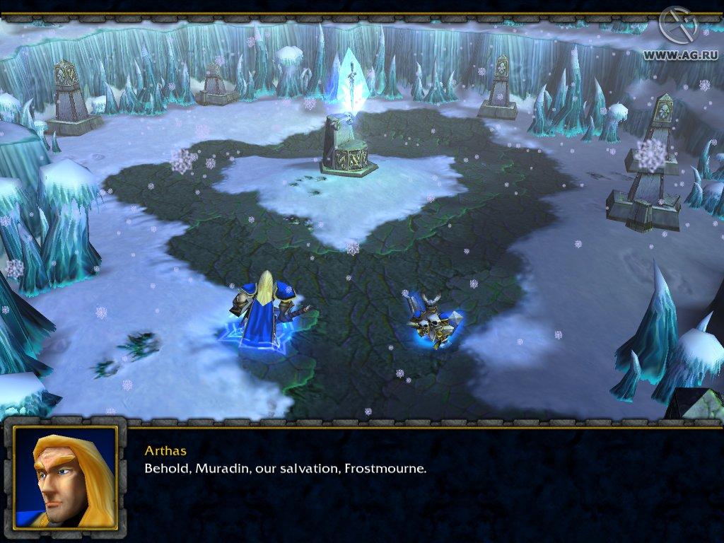 Обложка warcraft iii frozen